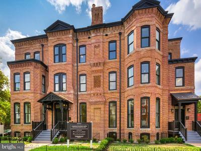 Logan Circle Townhouse For Sale: 1600 13th Street NW #A