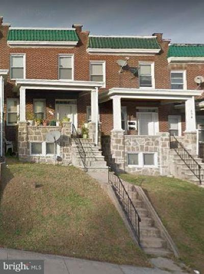 Baltimore MD Rental For Rent: $700