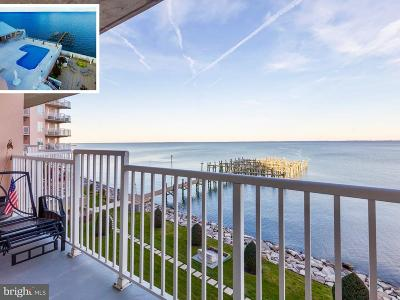 Chesapeake Beach Townhouse For Sale: 8501 Bayside Road #407
