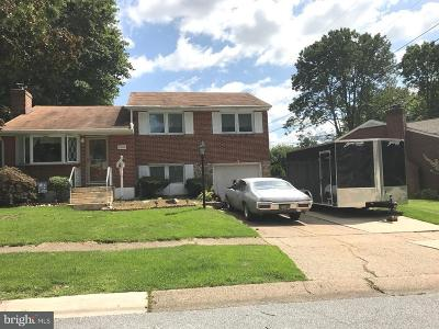 Claymont Single Family Home For Sale: 2602 Grant Avenue