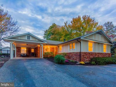 Silver Spring Single Family Home For Sale: 9329 Harvey Road