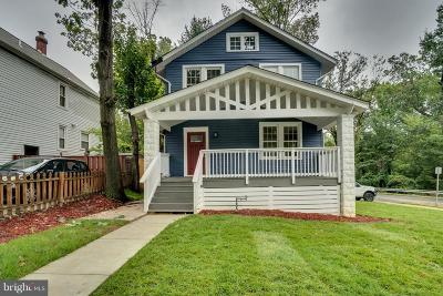 Washington Single Family Home For Sale: 2901 South Dakota Avenue NE