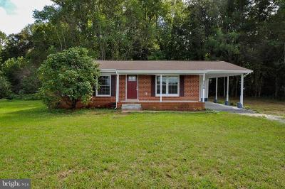 Caroline County Single Family Home For Sale: 20307 Anderson Mill Road