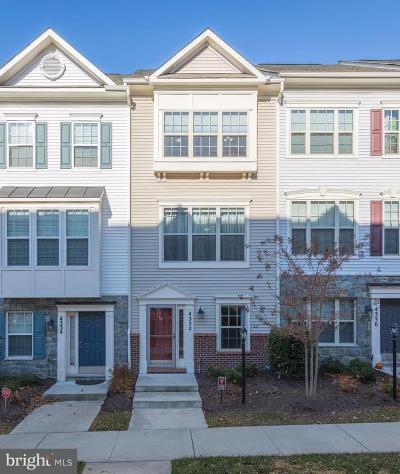 Triangle Townhouse For Sale: 4332 Potomac Highlands Circle