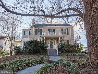 Washington Single Family Home For Sale: 3014 Military Road NW