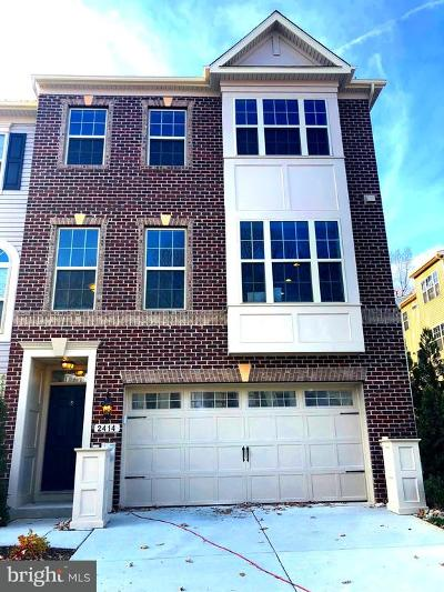Gambrills Townhouse For Sale: 2414 Macmullen Drive