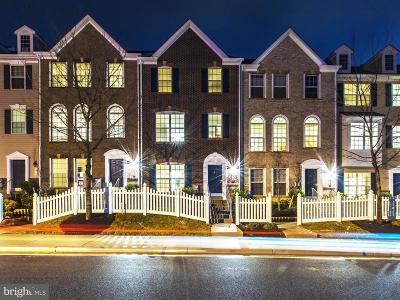 Westphalia Town Center Townhouse For Sale: 10706 Eastland Circle