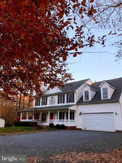 Fredericksburg Single Family Home For Sale: 8001 Church Pond Road