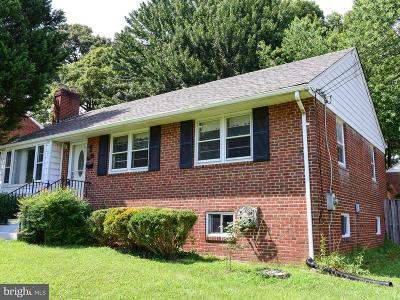 Annandale Single Family Home For Sale: 7404 Masonville Drive