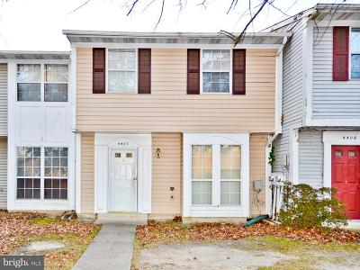 Waldorf Townhouse Under Contract: 4407 Eagle Court
