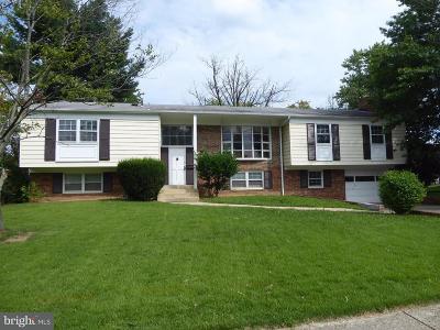 Springfield Single Family Home For Sale: 6129 Rivanna Drive