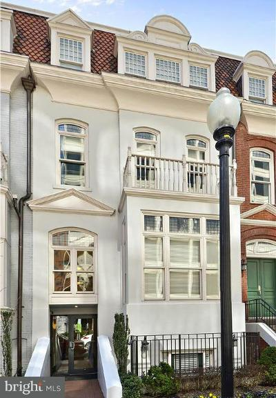 Dupont, Dupont - West End, Dupont Circle, Dupont/Downtown/Central, Dupont/Logan, Dupont/U St., Dupont/West End, Fort Dupont Park Single Family Home For Sale: 1830 Jefferson Place NW #19