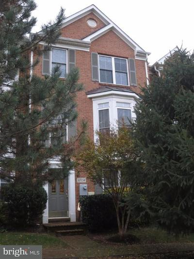 Silver Spring Townhouse For Sale: 10734 Horde Street