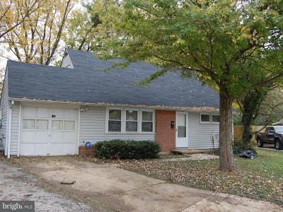 Glen Burnie Single Family Home For Sale: 131 Meadow Drive