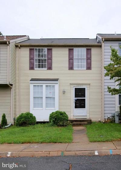 Abingdon Townhouse For Sale: 3320 Garrison Circle