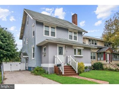 Merchantville Single Family Home For Sale: 211 West End Avenue