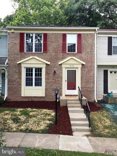 Burke Townhouse For Sale: 6176 Martins Landing Court