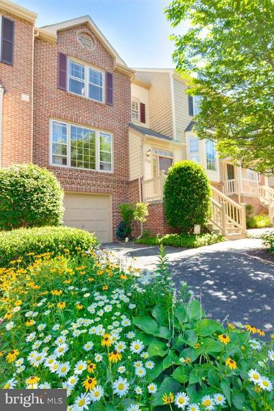 Reston Townhouse For Sale: 11791 Great Owl Circle