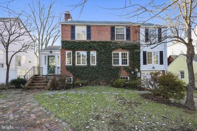 Bethesda Single Family Home For Sale: 8628 Garfield Street