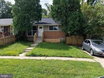 Temple Hills MD Rental For Rent: $1,800