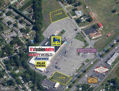 Wicomico County, WICOMICO COUNTY Residential Lots & Land For Sale: Fruitland Boulevard