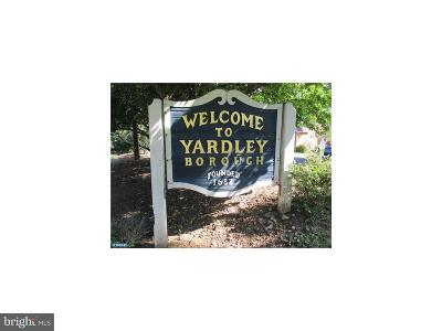 Yardley Single Family Home For Sale: 65 E Afton Avenue