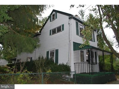 Bordentown Single Family Home Under Contract: 100 Mary Street