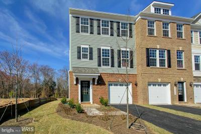 Manassas Townhouse For Sale: 8489 Craggan Lane