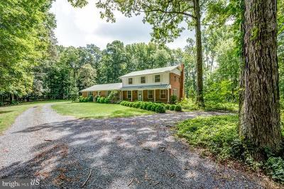 Cecil County, Dorchester County, Kent County, Queen Annes County, Somerset County, Talbot County Single Family Home For Sale: 10513 Old Cordova Road