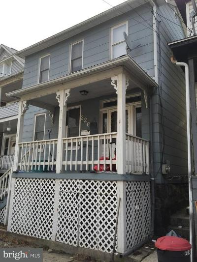 Piedmont Single Family Home For Sale: 226 Fairview Street