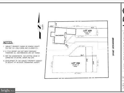 Alexandria Residential Lots & Land For Sale: 4412 Brookside Drive