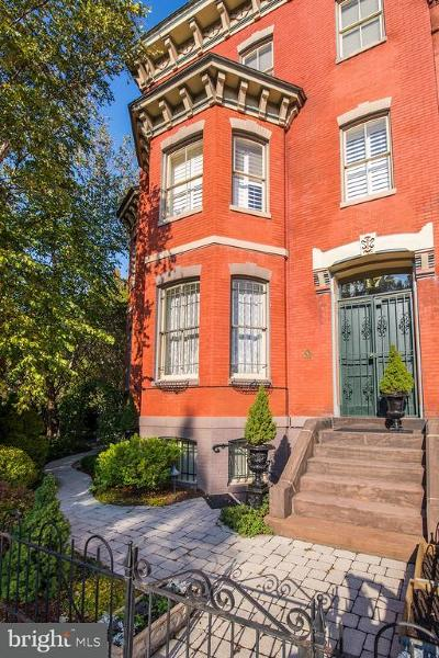 Logan Circle Single Family Home For Sale: 17 Logan Circle NW