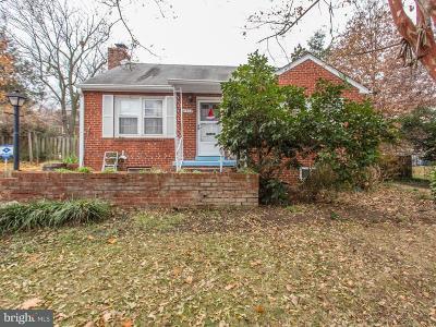 Alexandria Single Family Home For Sale: 6412 Pickett Street