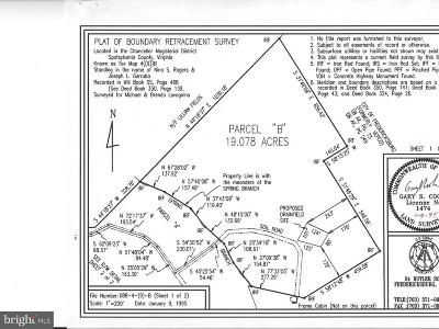 Frederick Residential Lots & Land For Sale: 8900 Rapidan Drive