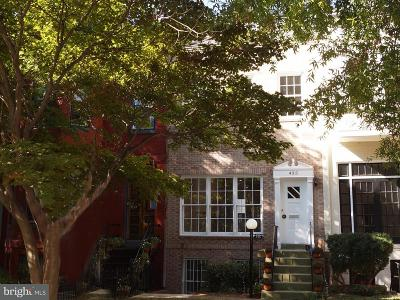 Washington Townhouse For Sale: 435 New Jersey Avenue SE