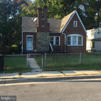 Capitol Heights Single Family Home For Sale: 5712 Early Street