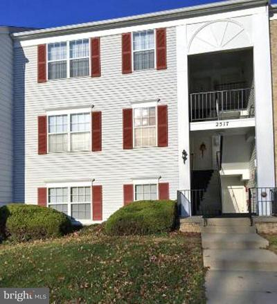 Silver Spring Townhouse For Sale: 2517 McVeary Court #9