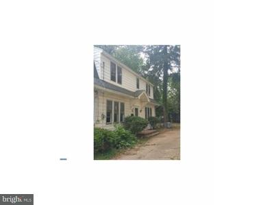Trenton Single Family Home For Sale: 30 S Westfield Avenue