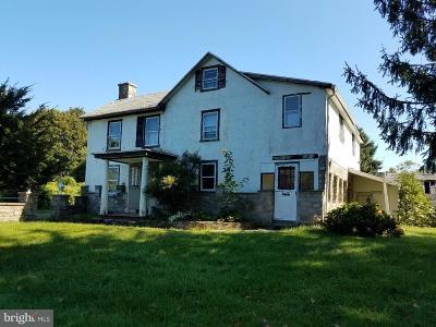 Glen Mills Single Family Home For Sale: 589 Cheyney Road