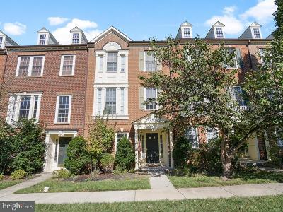 Frederick Townhouse For Sale: 3928 Addison Woods Road