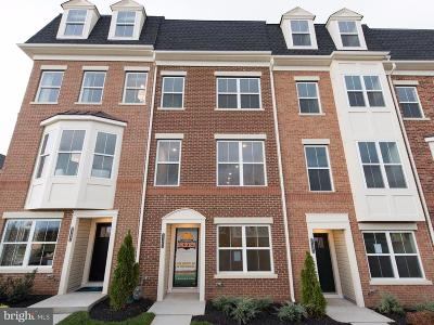 Frederick Townhouse For Sale: 7141 Judicial Mews