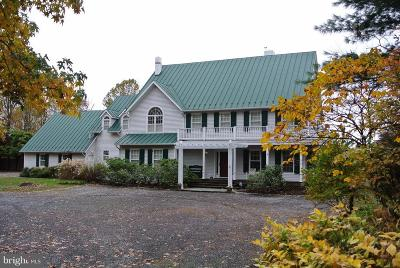 Rappahannock County Single Family Home For Sale: 1628 F T Valley Road