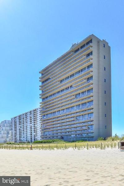Ocean City Townhouse For Sale: 9900 Coastal Highway #2520