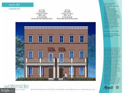 Bensalem Single Family Home For Sale: 118b Dock Street #G111B