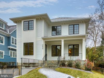 Washington Single Family Home For Sale: 3823 Albemarle Street NW