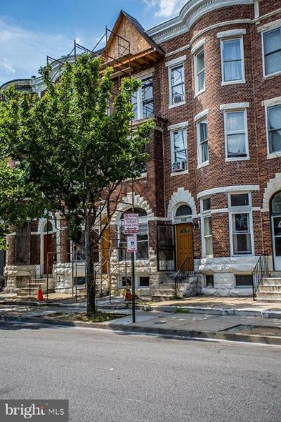 Baltimore Townhouse For Sale: 440 22nd Street