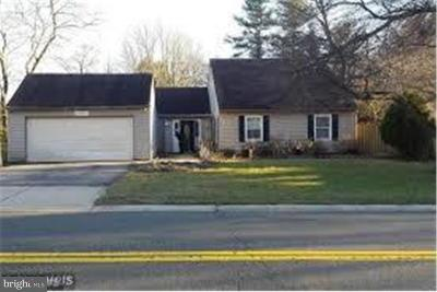 Bowie MD Single Family Home Under Contract: $280,000