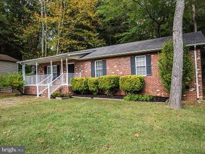 Spotsylvania VA Single Family Home For Sale: $215,000