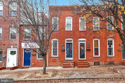 Baltimore Townhouse For Sale: 910 Potomac Street S