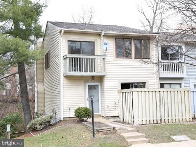 Springfield Townhouse For Sale: 7210 Jillspring Court #25B